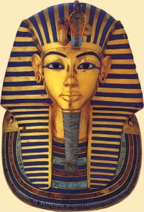 mascara funeraria de tutankamon