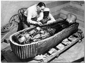 maldición de tutankamon