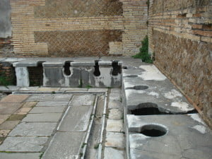 Romans wiped their butts