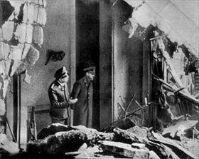 La última foto de Hitler.