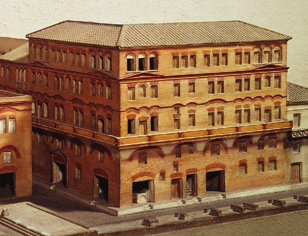 Edificios de apartamentos en la Antigua Roma. No es broma. - Ciencia ...