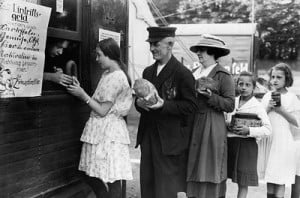 comprando pan