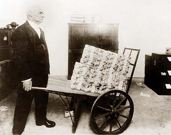 comprando una barra de pan
