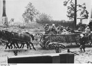 Refugiados de Prusia Oriental. Emigración forzosa