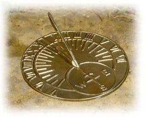 Reloj de Sol romano, las horas no duraban lo mismo
