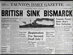 Los Británicos Hunden al Bismarck