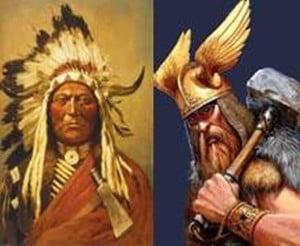 Indios y Vikingos