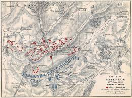 Mapa Batalla de Waterloo