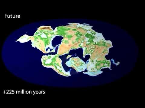 rompimiento de Pangea