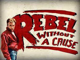 James Dean en Rebelde Sin Causa.