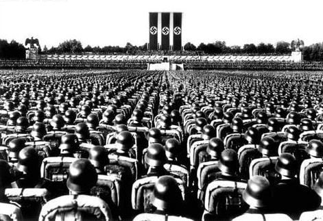 Rally nazi en Nuremberg, judíos