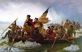 Washington cruzando el Delaware