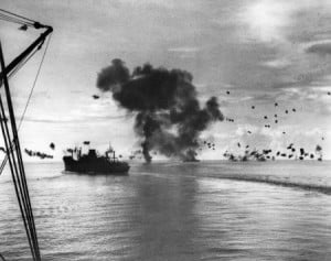Battle of Guadalcanal destroyer