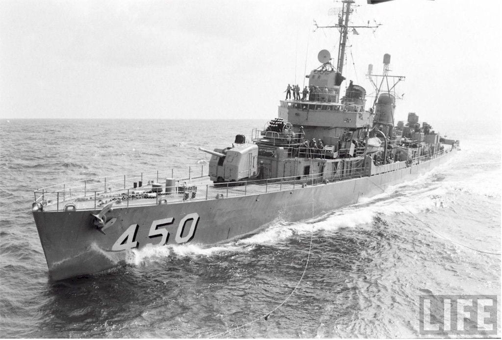 Destroyer USS O'Bannon