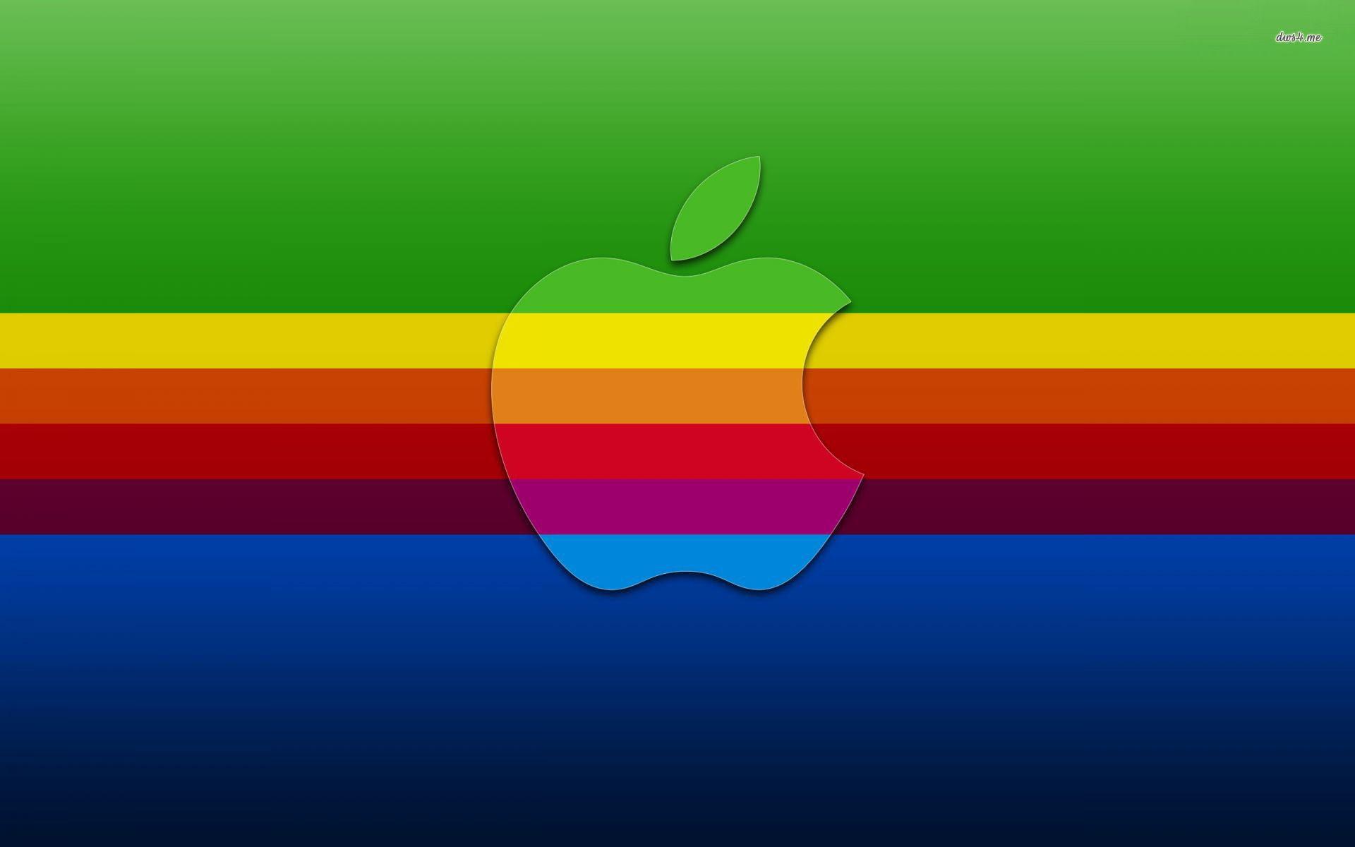 Apple logo arcoiris