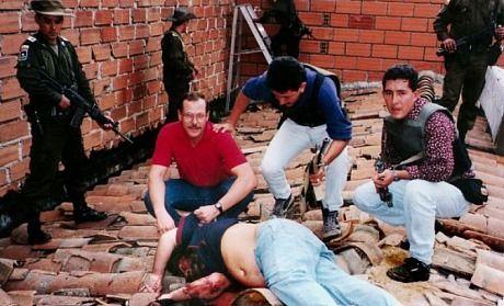 Pablo Escobar muerto