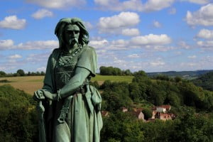 Monumento a Vercingetorix, Museo Parc, Alesia.