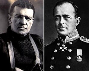 Shackleton y Scott