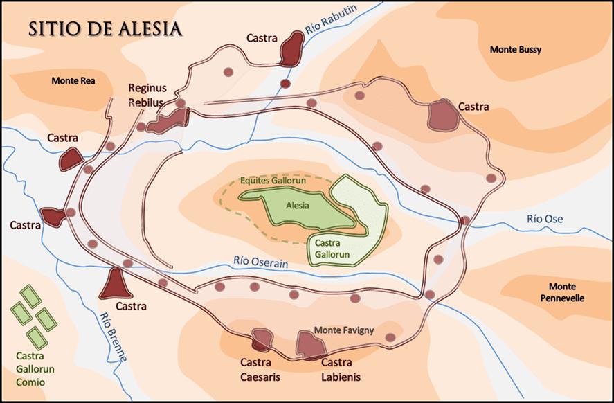 Sitio de Alesia