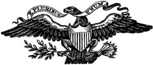 E pluribus unum, escudo de los Estados Unidos