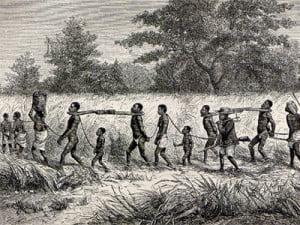Esclavos capturados