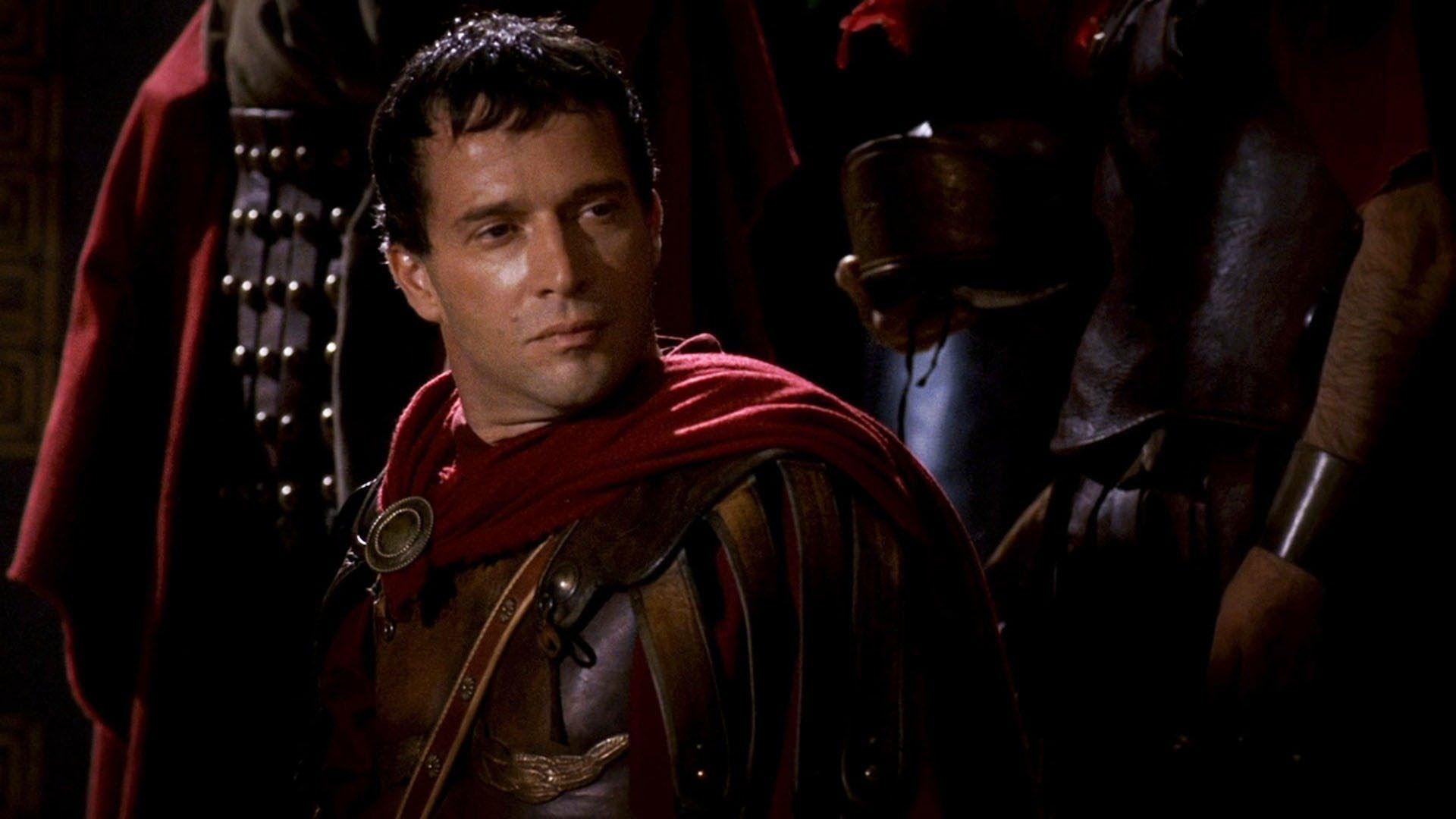 James Purefoy en el papel de Marco Antonio. Roma (2005.2007)