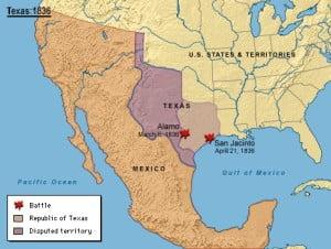 Texas en1836