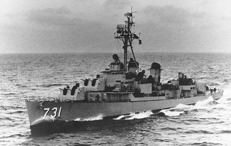 USS Maddox, Tonkin