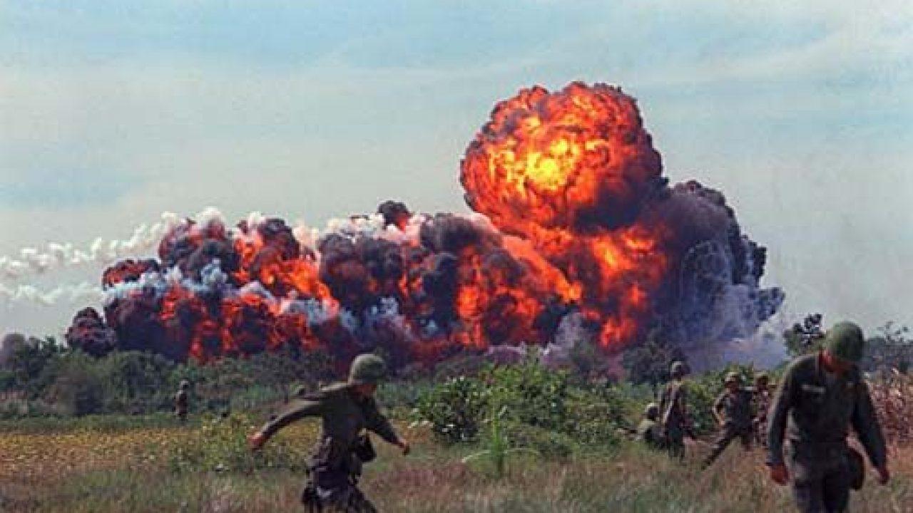 Napalm y Vietnam, inseparables. - Ciencia Histórica