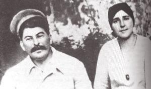 Stalin y Nadya