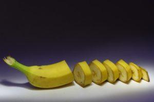 banana moderna, frutas