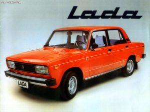 Lada-(vaz)-2105-4, coche en la URSS