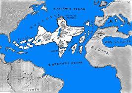Mapa de la Atlantida