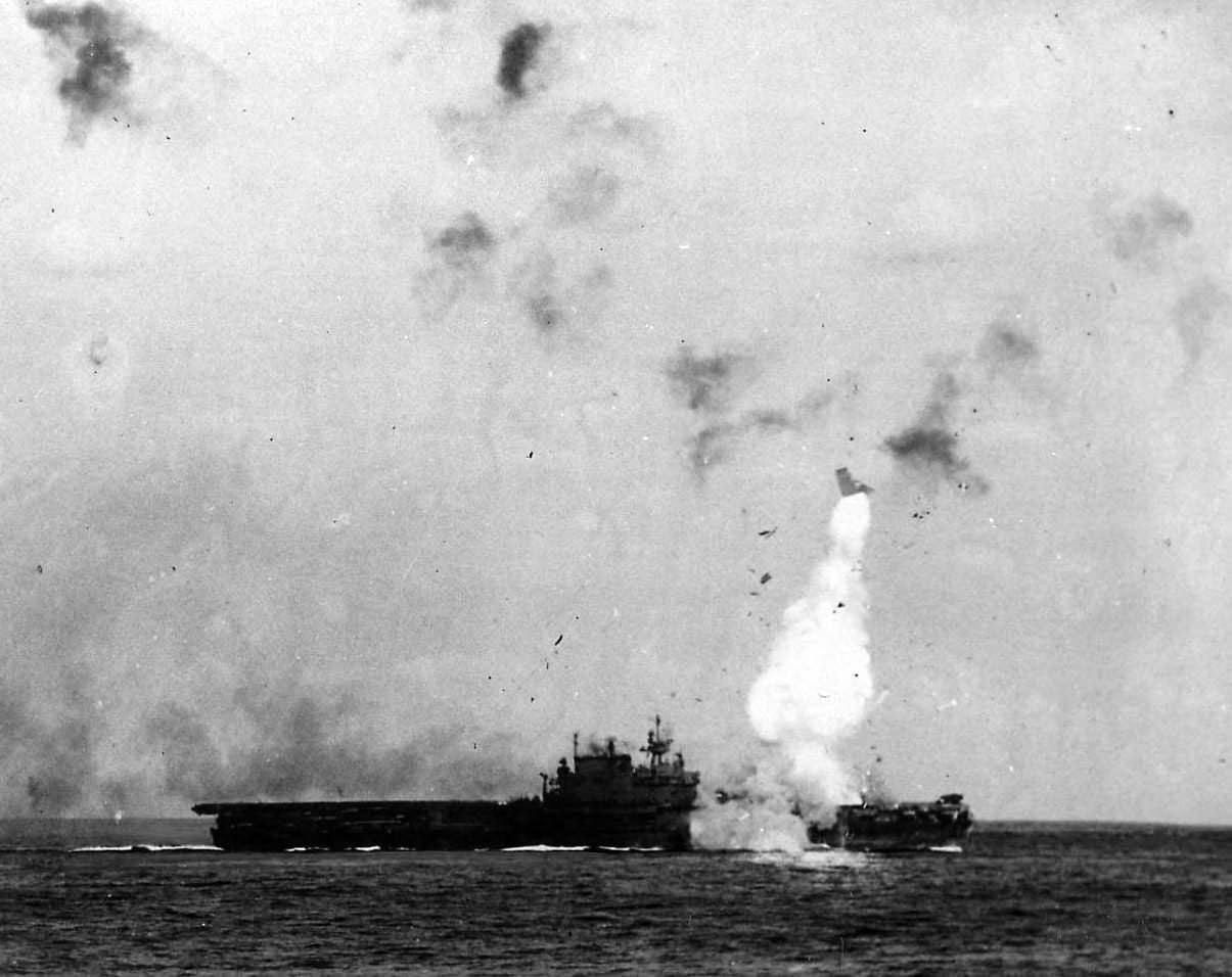 USS Enterprise, Okinawa