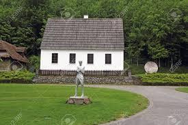 La casa de la familia Tesla en Smiljan.
