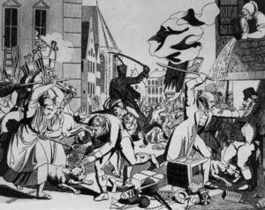 Pogromo en Frankfurt, 1819.