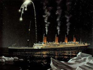 Titanic y sus bengalas