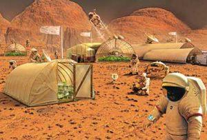 Humanos marcianos