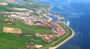 Texel, sitio de una violenta batalla.
