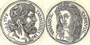 Lucius Tarquinius Priscus y Tanaquil