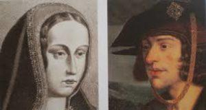 Juana la Loca y Felipe el Hermoso.