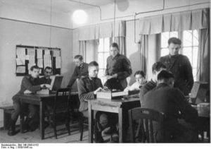 Miembros de la Abwehr, inteligencia nazi