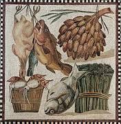 comida del legionario romano