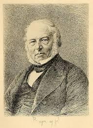 Rowland Hill inventor del sello postal