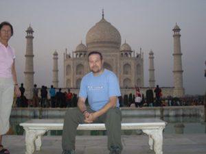 Taj Mahal y yo