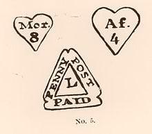 Los primeros sellos de la London Penny Post