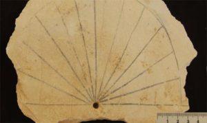 Reloj de Sol egipcio, 1500 a. de C.