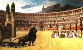 Crucifixiones en el Coliseo