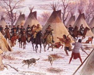 Custer en las guerras indias