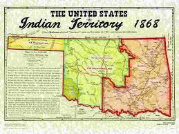 El llamado Territorio Indio.